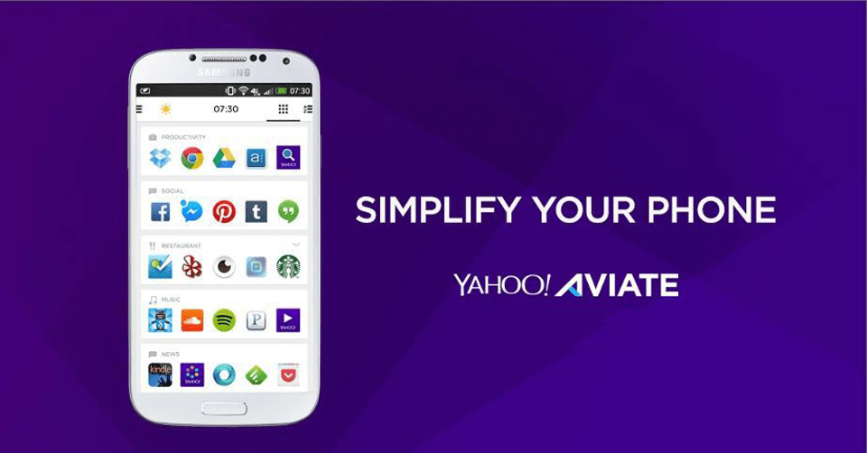Aviate by Yahoo