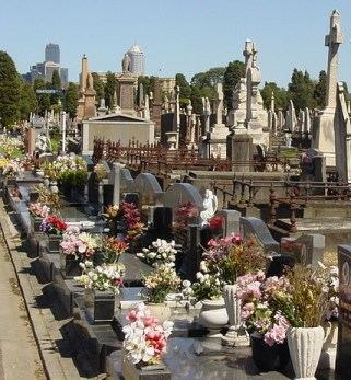 Highly landscaped, sculptured, urban cemeteries discourage native animals and vegetation.
