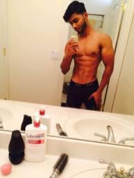 selfie arab nude 1