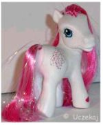 Picture of a Little Pony plastic figurine.