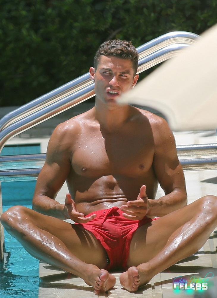 christiano ronaldo comletetly nude