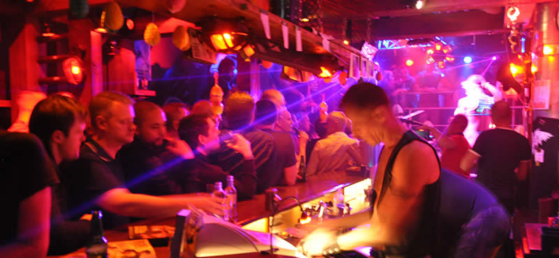 Eagle gay bar Amsterdam
