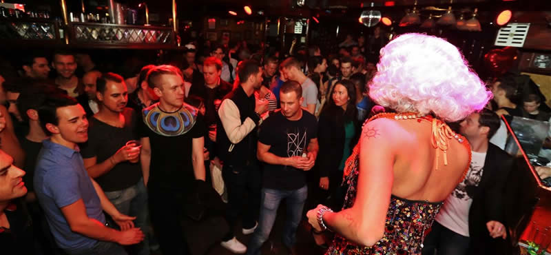 SOHO gay bar Amsterdam