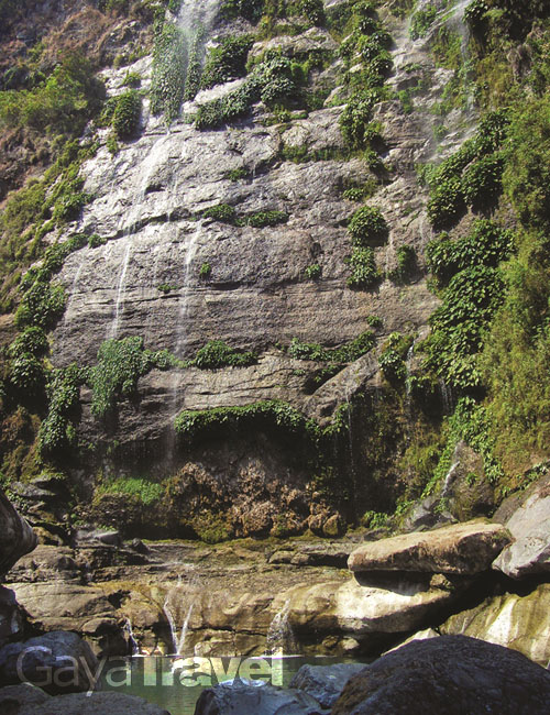 Bomod-ok waterfalls is also a must see site in Sagada