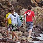 Billabong, the main sponsor for the event