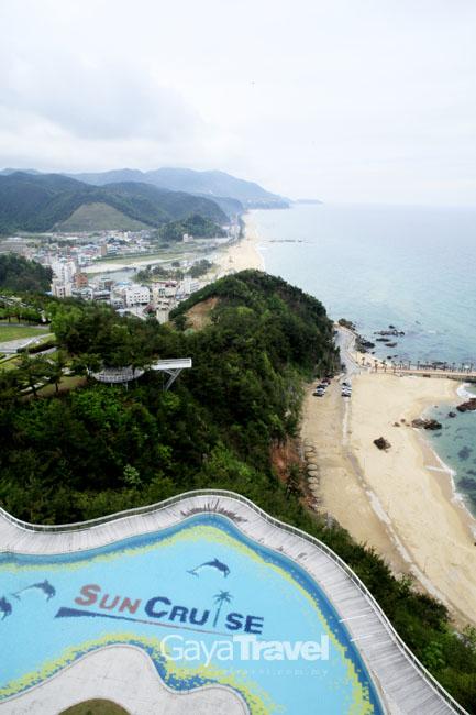 The view from Jeongdongjin