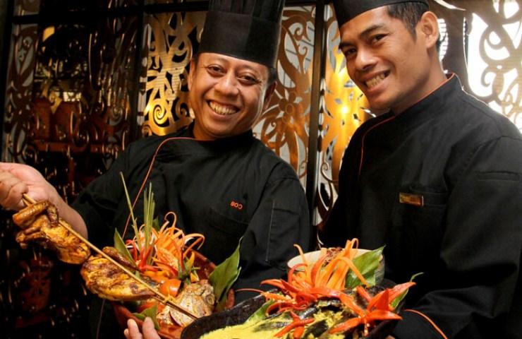 Chef Fazli Chef Zulkarnean of Makan Kitchen