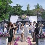 Rocking wedding ceremony