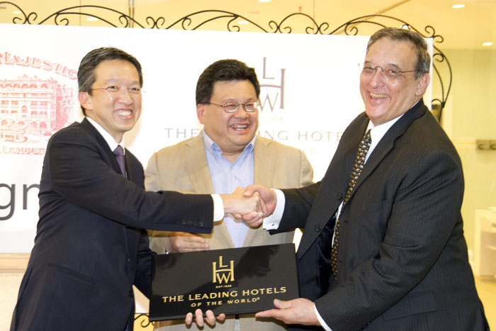 The Leading Hotels of the World Signs On The Majestic Hotel Kuala Lumpur