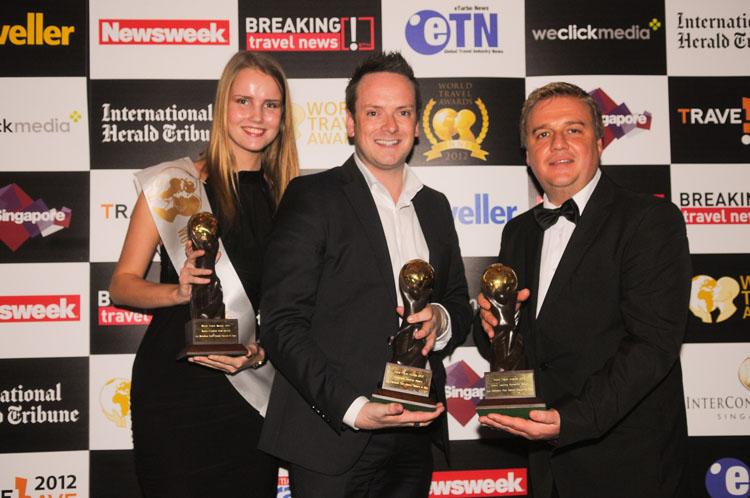 Awards in the World Travel Awards 2012 Le Méridien Koh Samui Resort & Spa