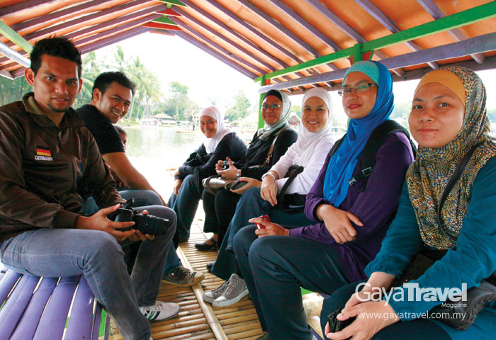 Five other fellow travellers who joined us in this journey...