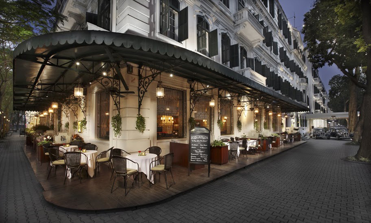 Hotel Metropole Hanoi LaTerrasse du Metropole