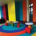 Colourful learning enviroment at the NIC