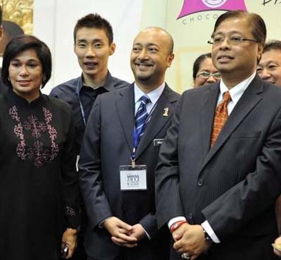 During 9th International Halal Showcase, 2012