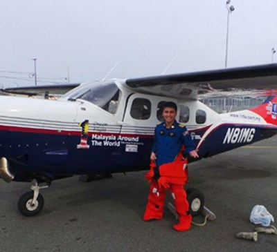 Tourism Malaysia Flies High with Malaysian Solo Pilot