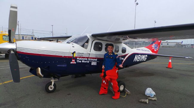 Tourism Malaysia Flies High with Malaysian Solo Pilot