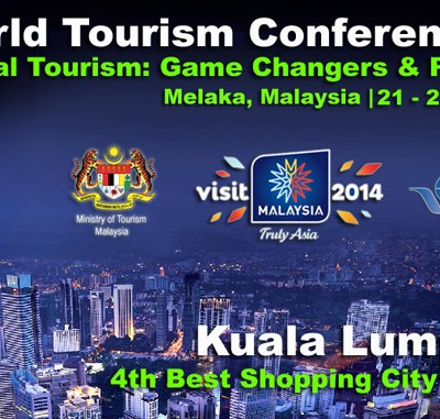 Malaysia to host World Tourism Conference, 21 to 23 Oct 2013 in Melaka
