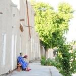 Serene neighbourhood in Bukhara