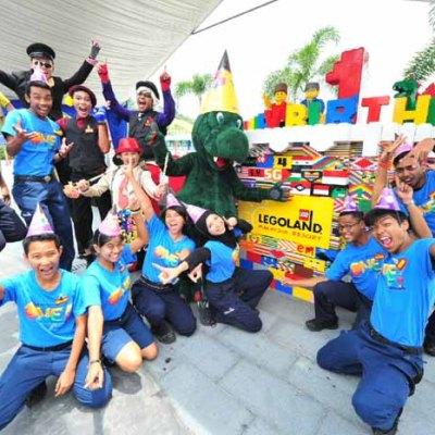 LEGOLAND Malaysia celebrates 1st anniversary