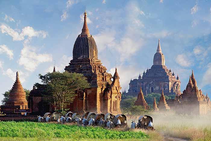 Bagan caravan