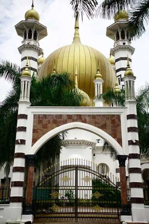 The iconic Ubudiah Mosque in Kuala Kangsar, Perak