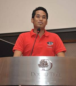 Yang Berhormat Encik Khairy Jamaluddin Abu Bakar, Minister of Youth and Sports, gracing the event as Guest of Honour.