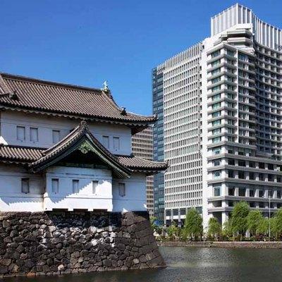 Palace Hotel Tokyo Exterior with Tatsumi Watchtower