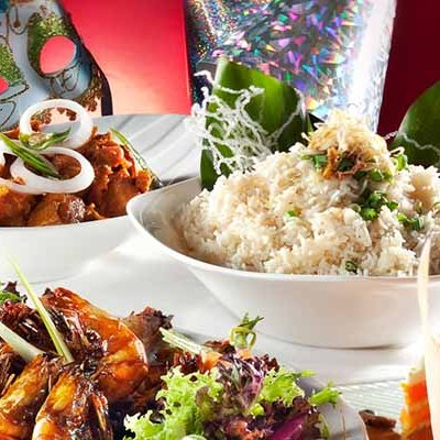 Let's welcome the dawn of 2014 with a selection of delectable dishes at Cinnamon Coffee House, One World Hotel