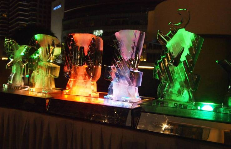 2014 Ice Carving for the New Year celebration at Novotel KLCC