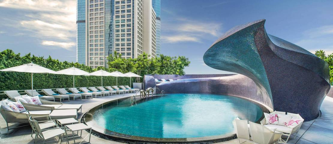 W BANGKOK hosts W Songkran Pool Party 2014 with Alex Face 2014