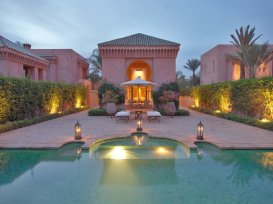 Amanjena - Marrakech, Morocco - Eight Pavilion Piscines feature their own private, heated pool