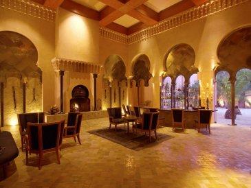 Amanjena - Marrakech, Morocco - The Bar and Fumoir