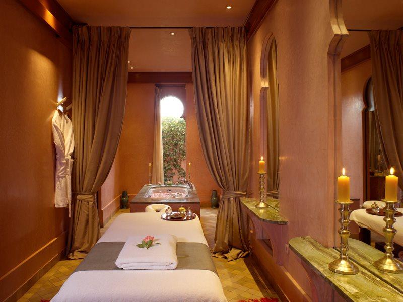 Amanjena - Marrakech, Morocco - The Spa Treatment Room