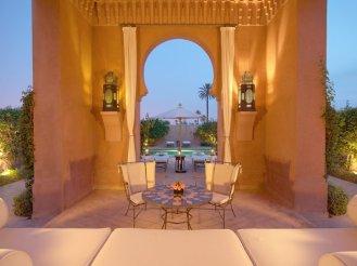 Amanjena - Marrakech, Morocco - Pavillion garden courtyard