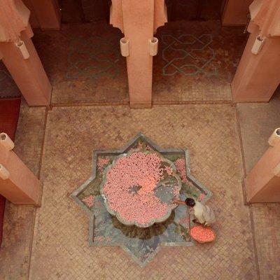 Amanjena - Marrakech, Morocco - Courtyard Fountain