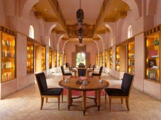 Amanjena - Marrakech, Morocco - The Library