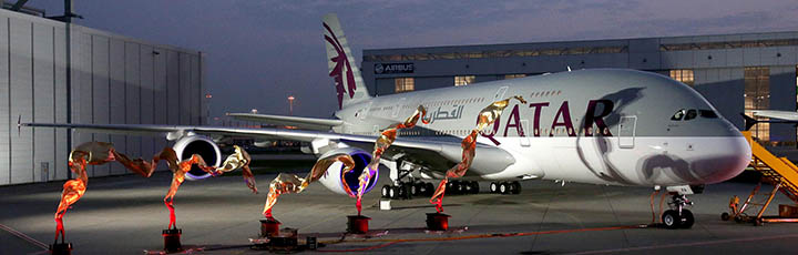 QATAR AIRWAYS TAKES DELIVERY OF ITS HIGHLY ANTICIPATED FIRST A380