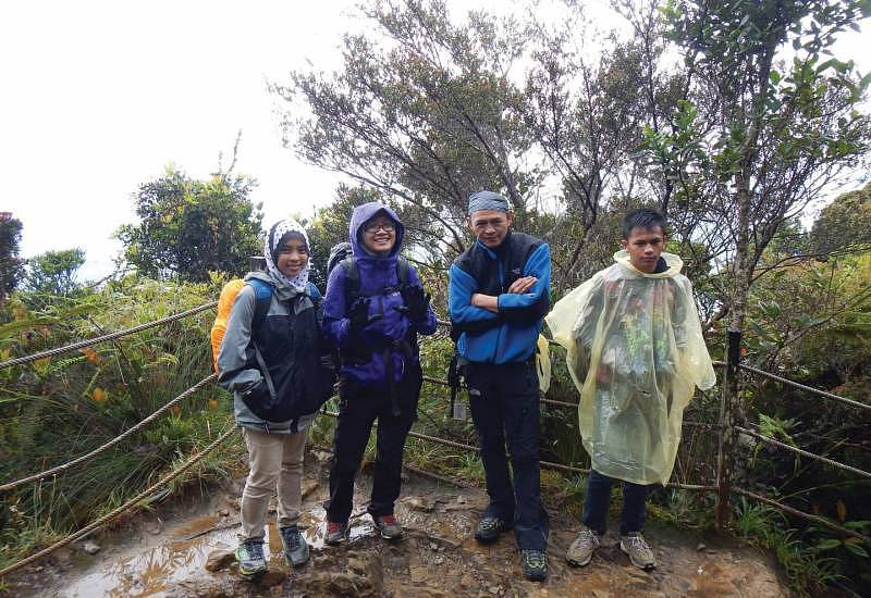 Backpacking in Sabah - We vowed that we would be coming back the next year with renewed spirits.