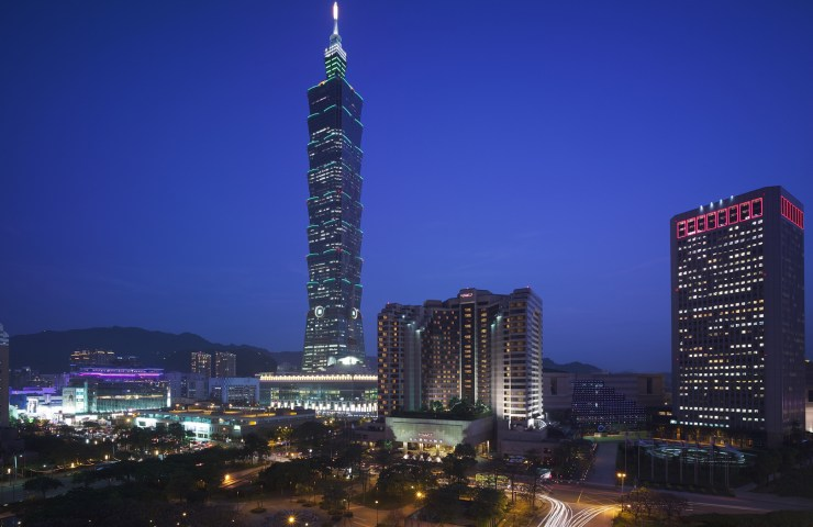 Taipei 101, once the tallest building in the world, still serves as the city's nerve center