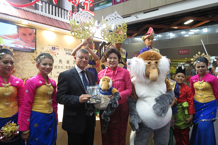 Tourism Malaysia Participated in Taiwan's Biggest Travel Fair