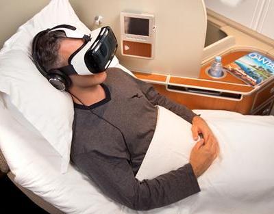 Qantas virtual reality experience