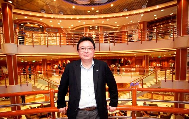 Princess Cruises' Director of Southeast Asia, Farriek Tawfik