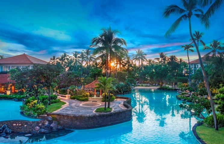 The Laguna Bali landscape