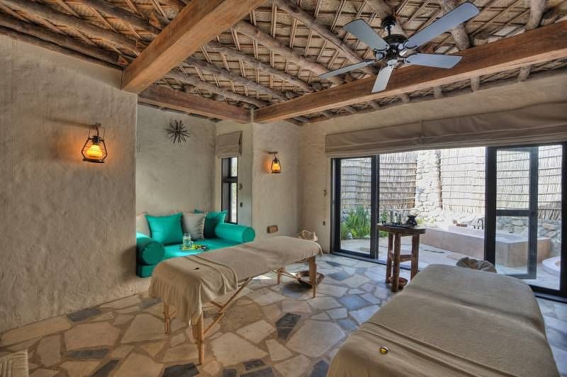 Six Senses Hotels Resorts Spas' Zighy Bay Spa Treatment Room