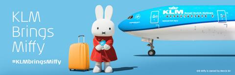 KLM Miffy banner
