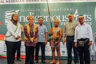 Selangor International Indigenous Arts Festival 2015.
