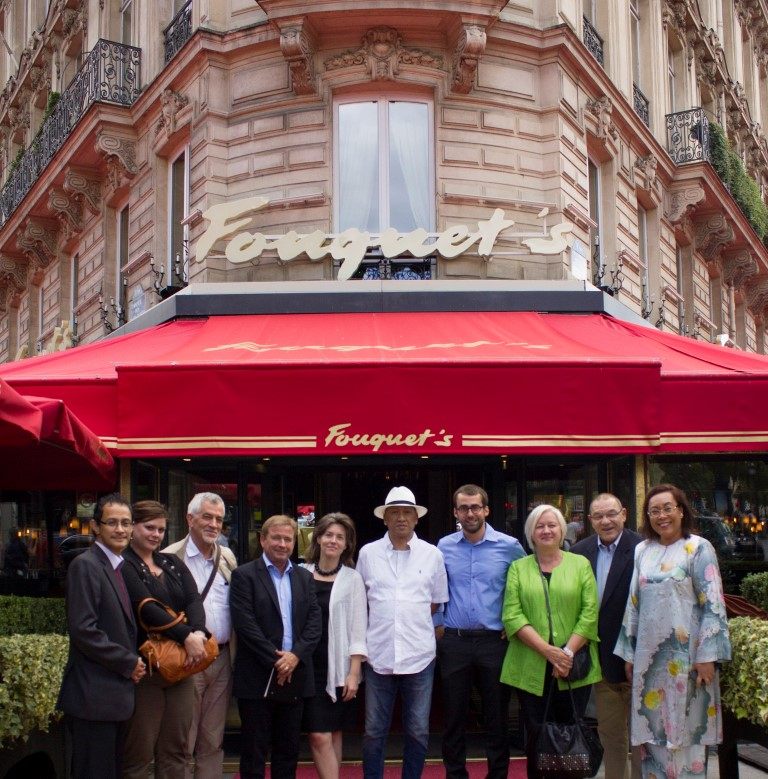 Minister with French Tour Operators and Journalists in Paris