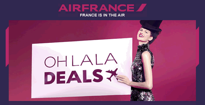 Air France Makes Travellers Go Oh LaLa with New Promotion
