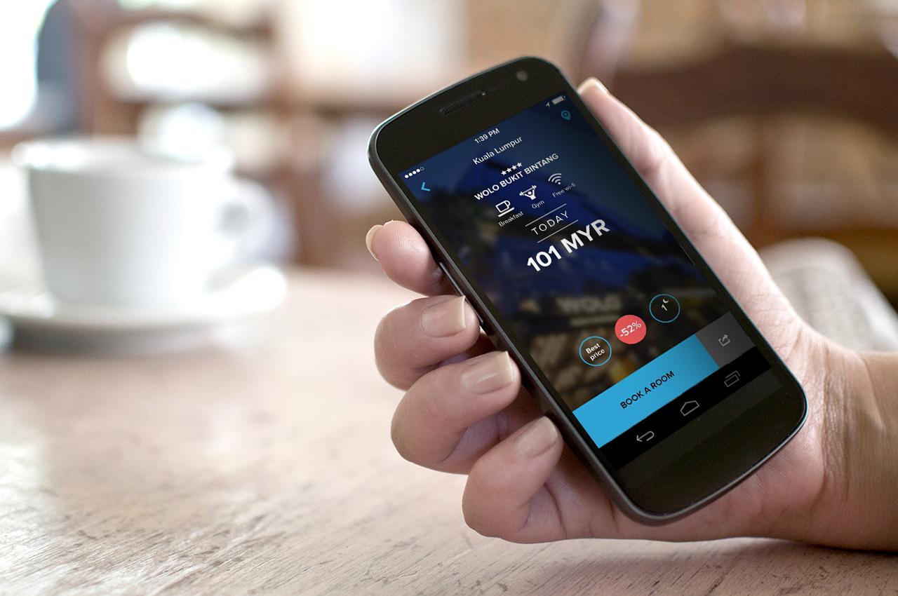 HotelQuickly App UI