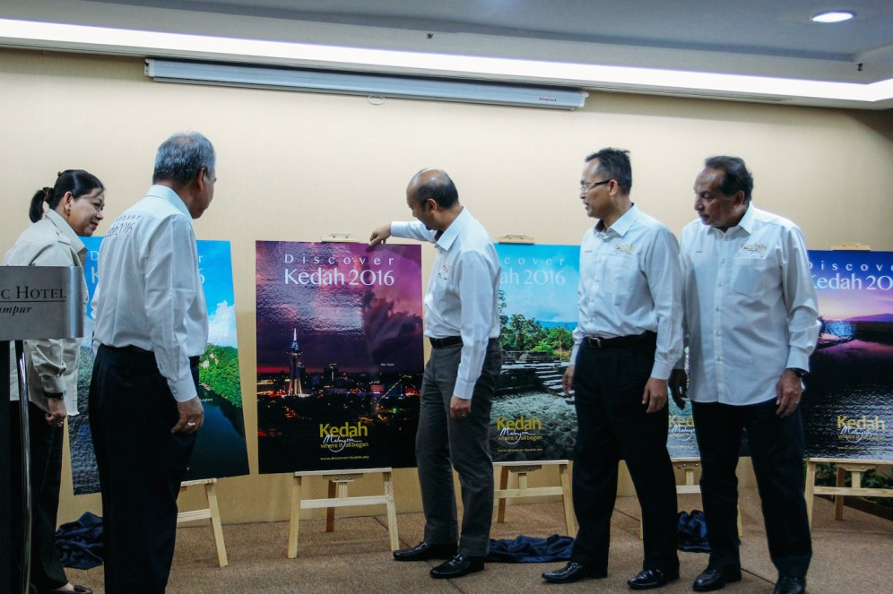 Discover Kedah 2016 Launching